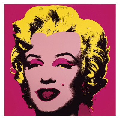 Marilyn, c.1967 (Hot Pink) Premium Giclee Print · Warhol, Andy 56 in. x 56 in.
