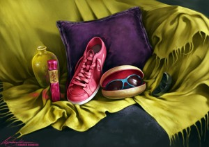 Digital Still Life by Charlie Bowater